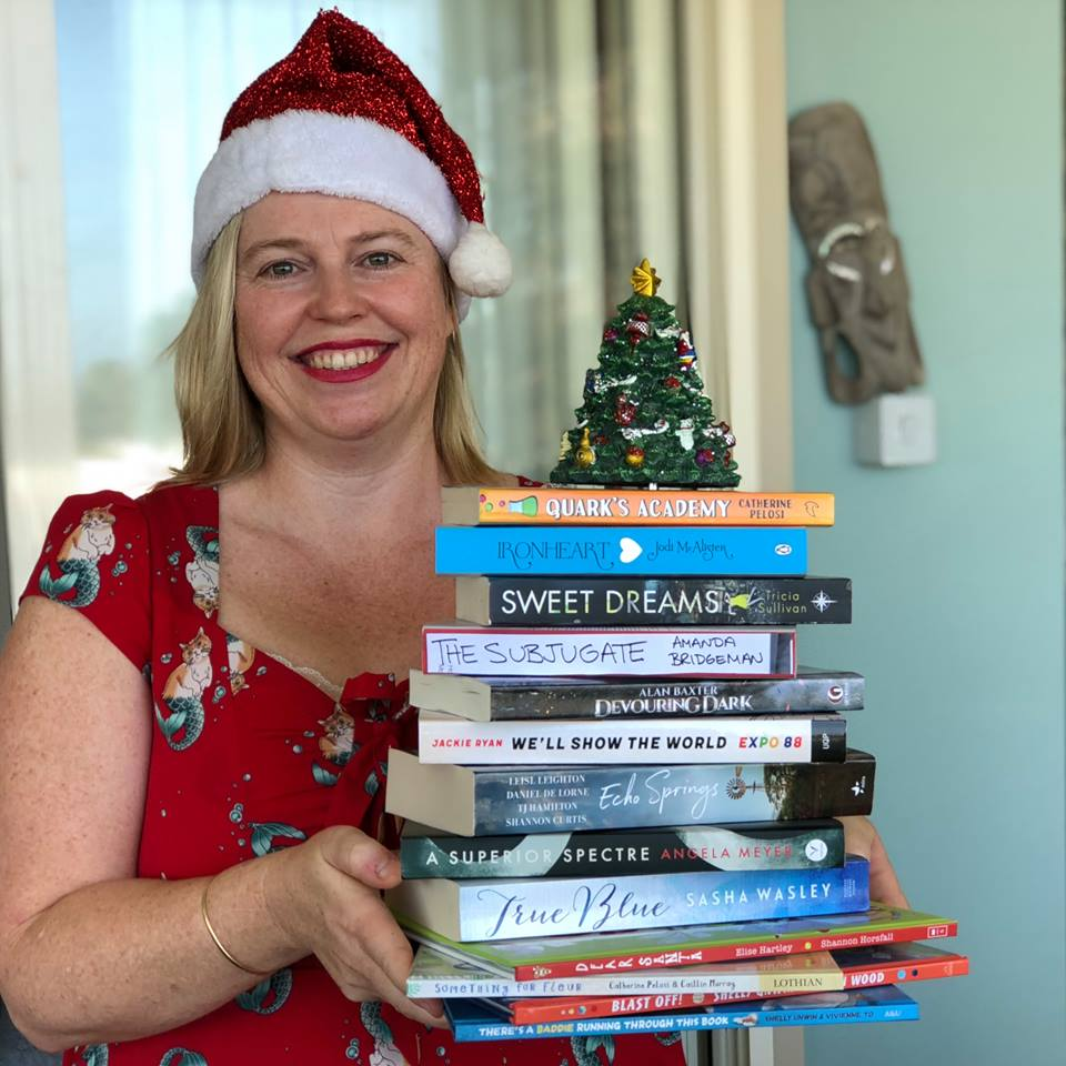 A Christmas For The Books.Books Books Books And Merry Christmas From Aaps Alex
