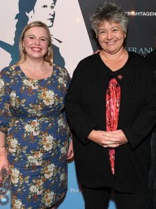 Alex Adsett, Melissa Luchashenko & Madonna Duffy Miles Franklin Literary Awards Winner Announcement 2019 - Piper Room, Ovolo Hotel, Woolloomooloo - Tuesday 30th july, 2019
