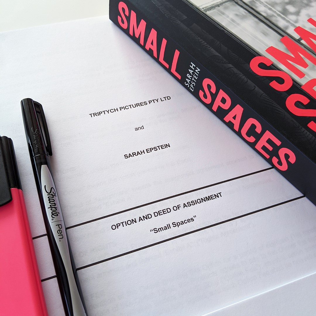Sarah Epstein's Small Spaces optioned for Film
