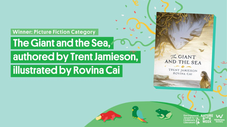 THE GIANT AND THE SEA Wins Environment Award for Children's Literature 2021